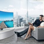 televisores curvados