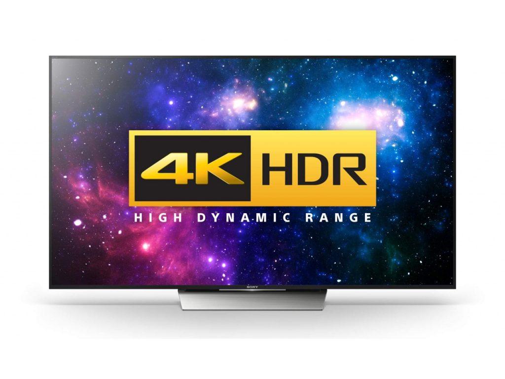 4K HDR Sony KD-55XD8505