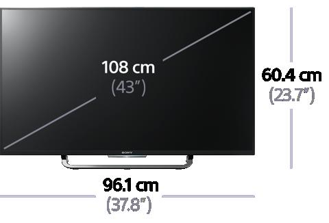 Sony KD-43X8308C