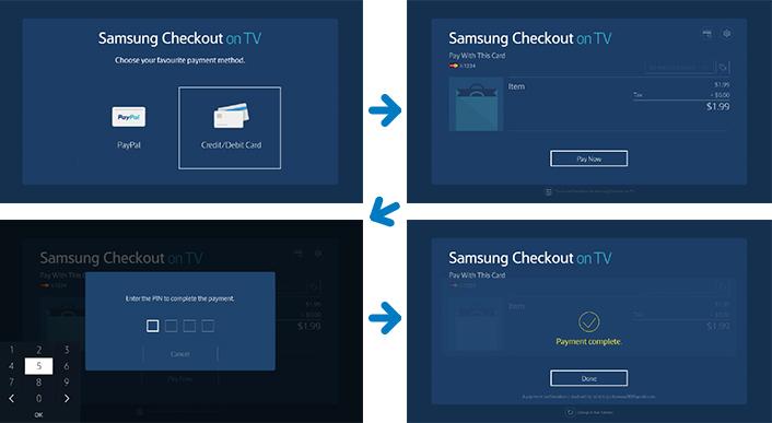 Samsung Checkout