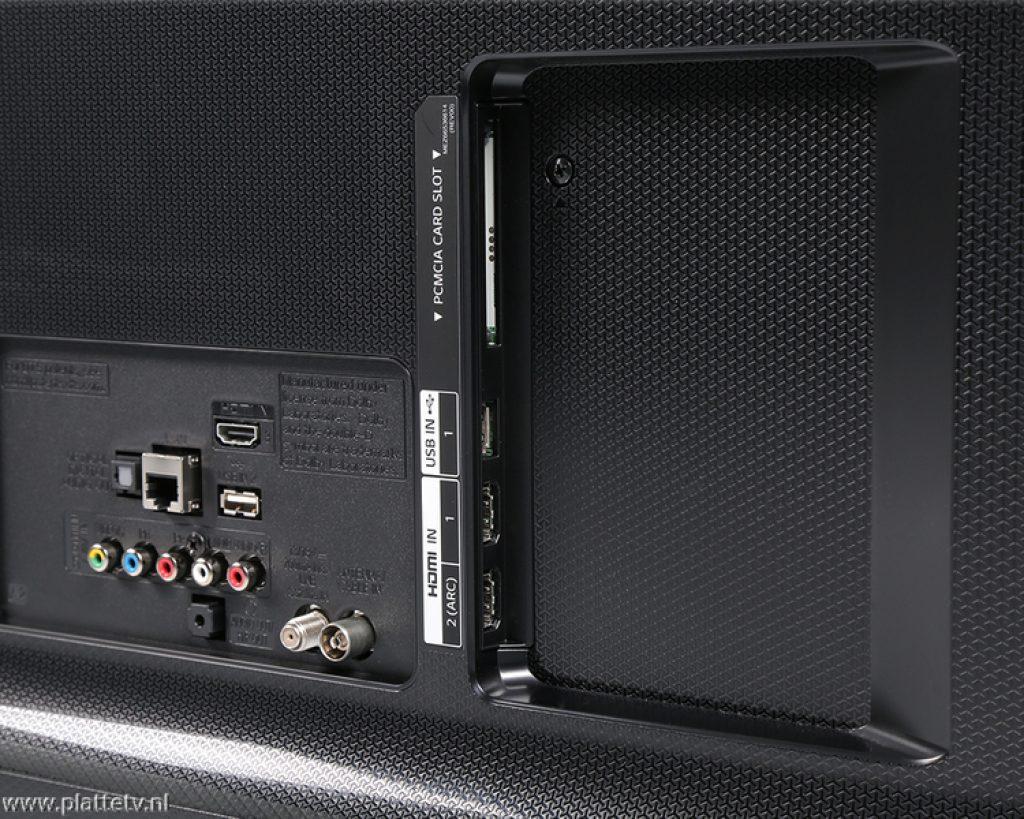 LG 49UH661V conexiones traseras
