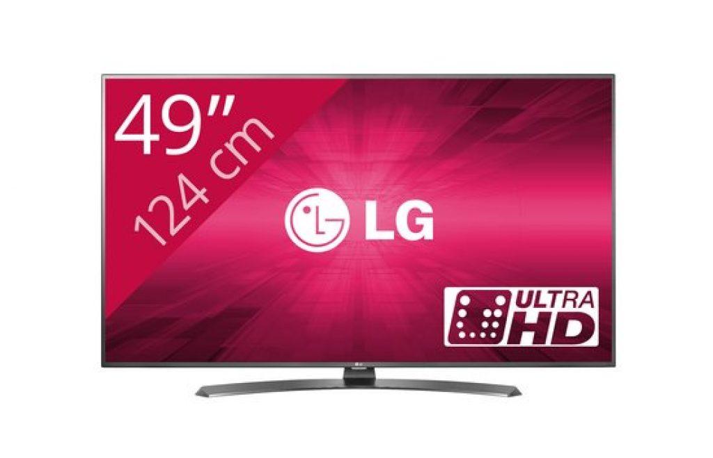 LG 49UH661V ultra HD