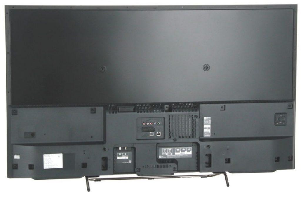 Sony KDL-50W808C por detrás