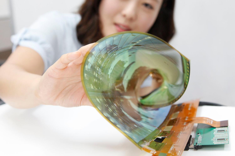 pantallas oled flexibles