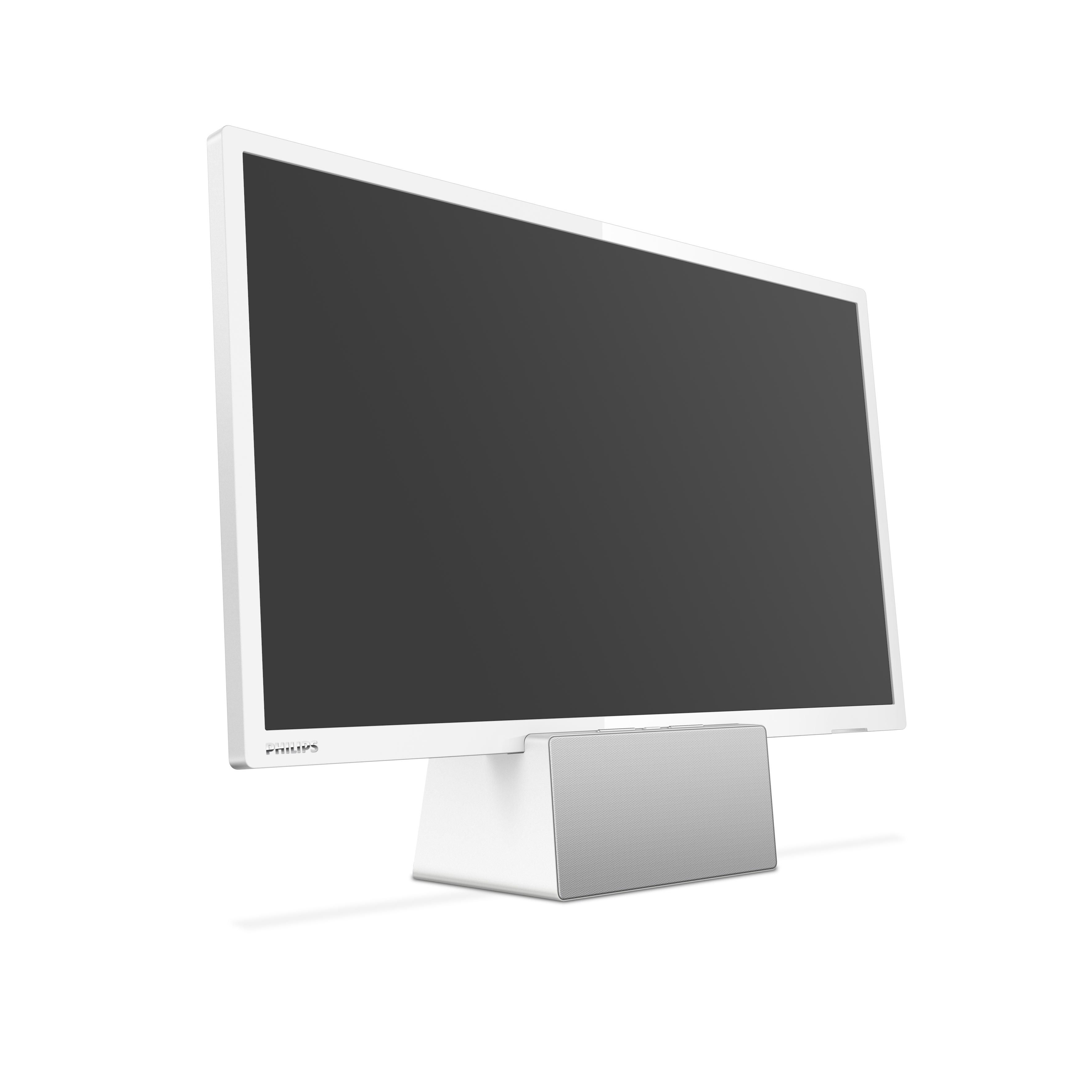 12887f567 Philips 24PFS5231, el televisor que te puedes llevar como pantalla  secundaria o altavoz inalámbrico