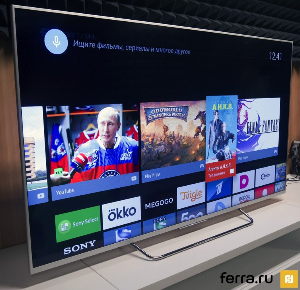 Sony KDL-55W807C smart TV