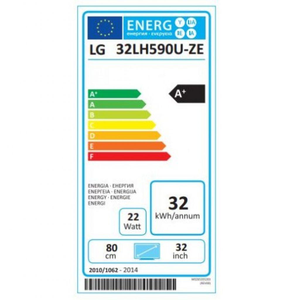 LG 32LH590U energía