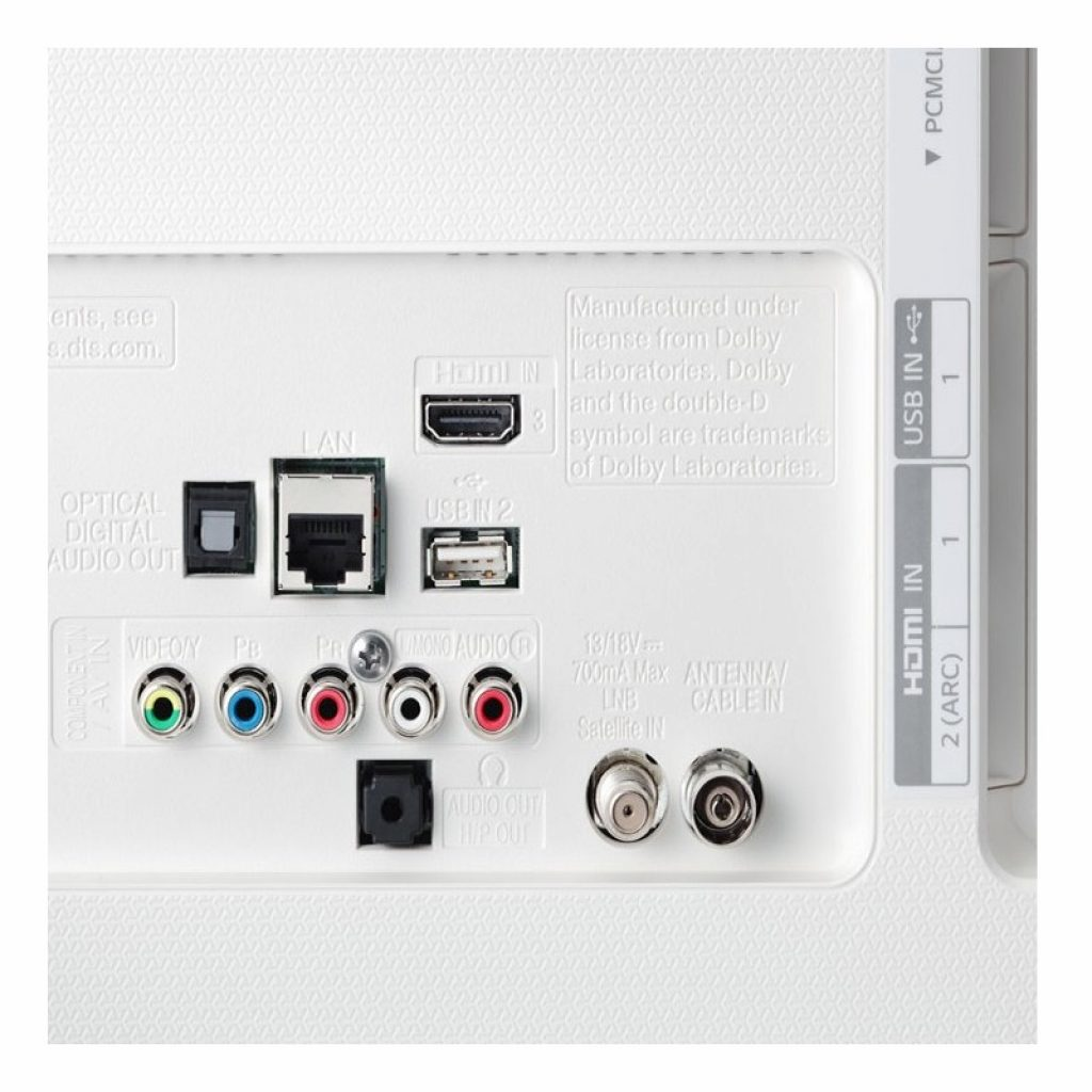 LG 43UH750V conectividad