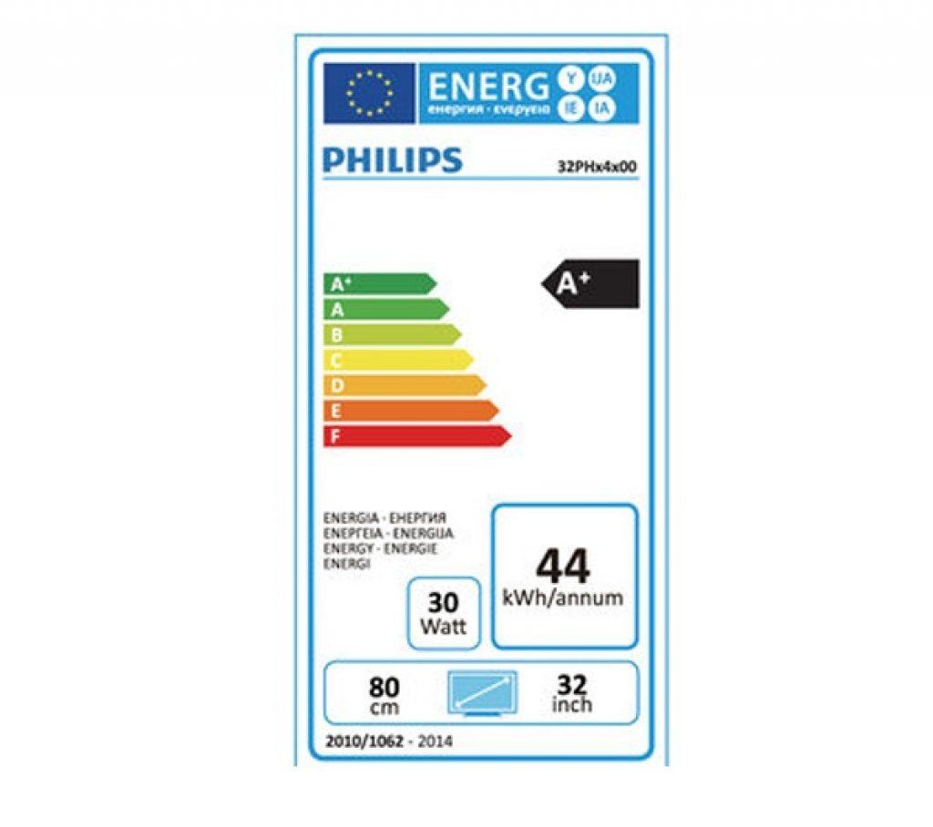 Philips 32PHH4100/88 energía