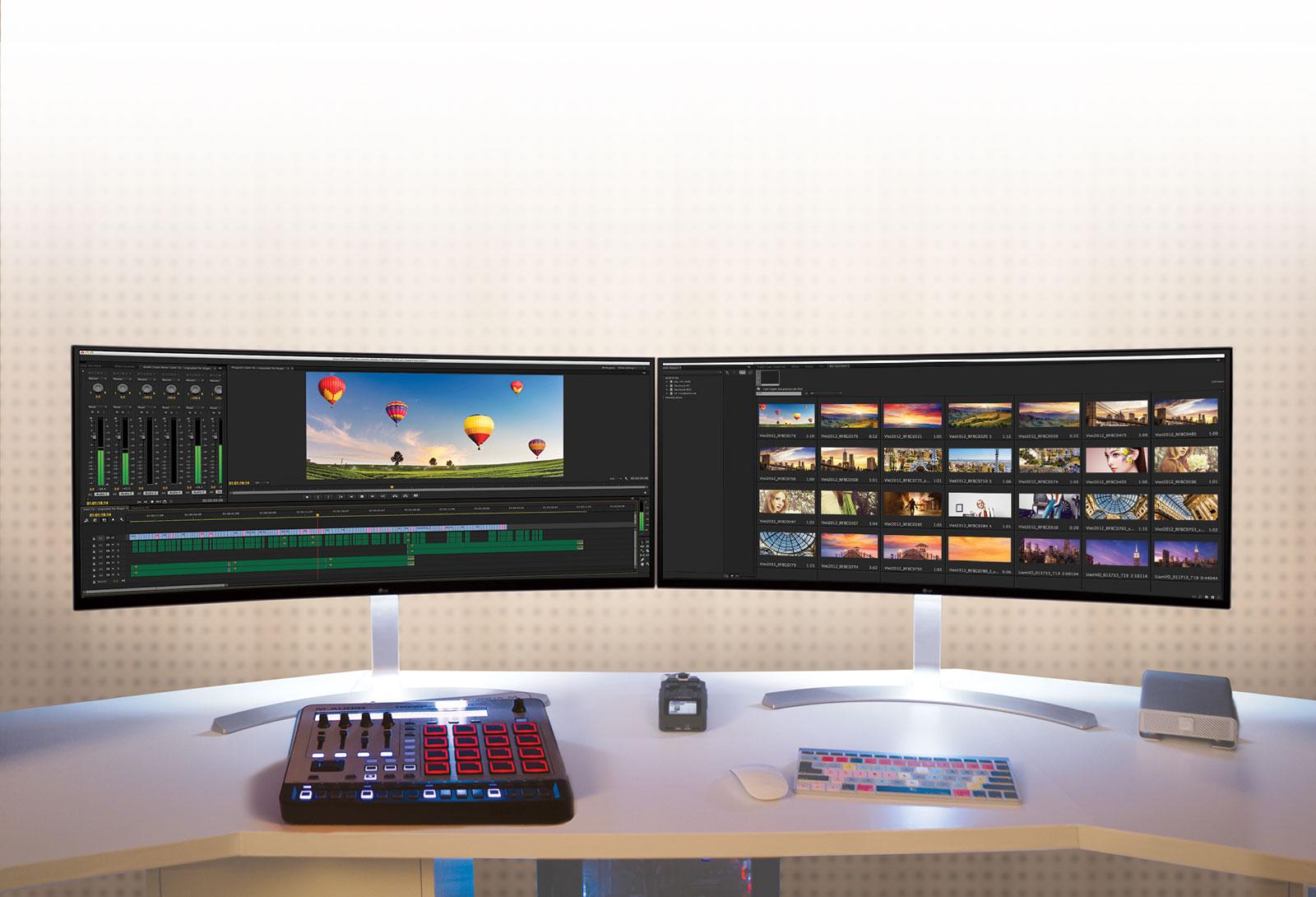 LG 38UC99-W modo dos pantallas