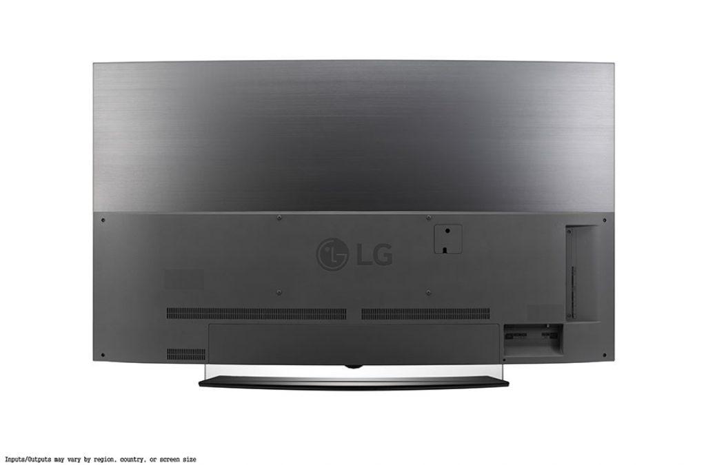 LG OLED65C6V trasera