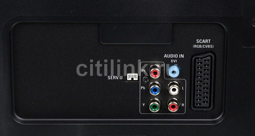 Philips 40PFT5501 conexiones clásicas