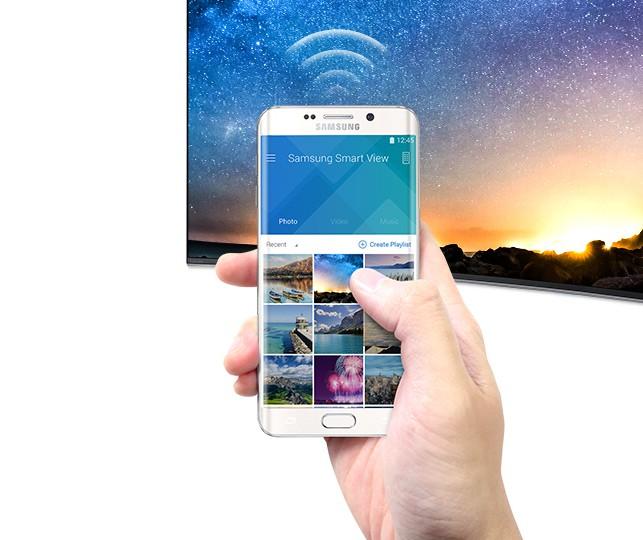 """""""Smart View"""" de la Samsung UE49KU6640"""