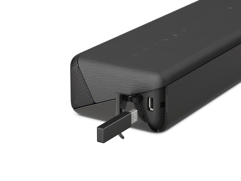 Sony HT-MT500 no se olvida de puertos ni conectividad