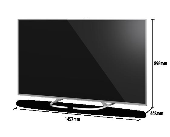 Panasonic TX-65EX700 dimensiones