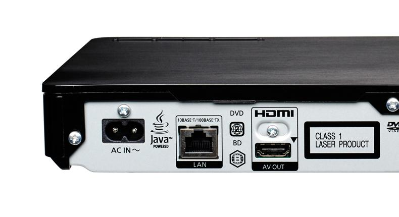Panasonic DMP-BD84 cumple en conectividad