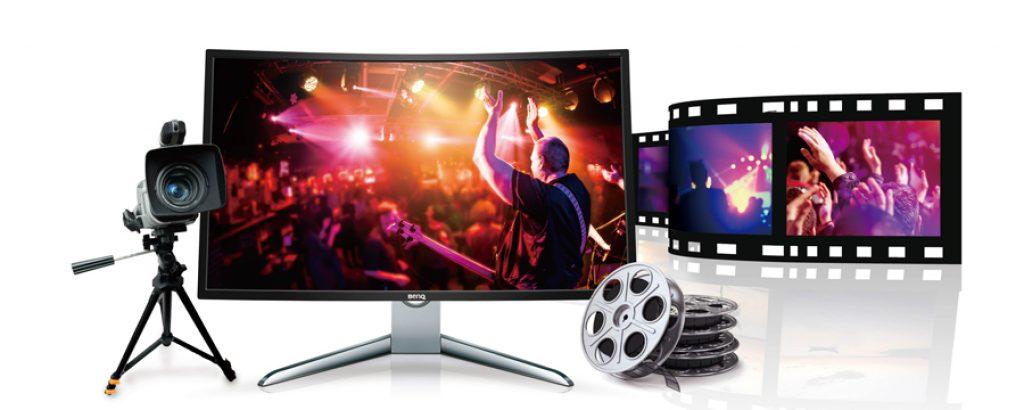 BenQ EX3200R, modo de cine