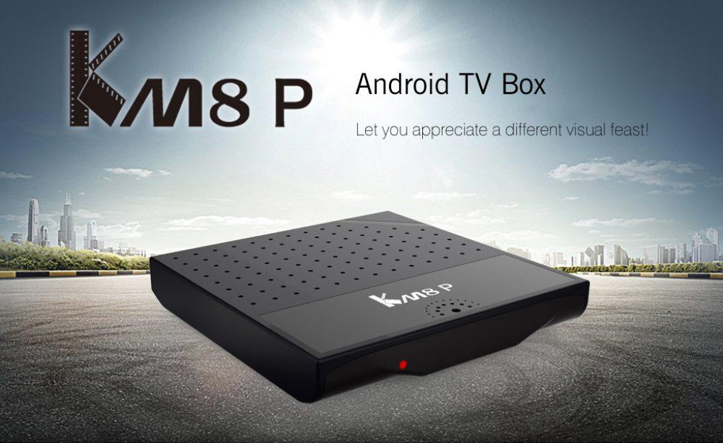 Mecool KM8 P diseño