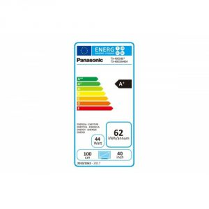 Panasonic TX-40ES400 eficiencia energética