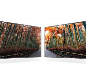 Samsung UE55MU6445UXXC cuenta con una destacable tecnología de mejora de imágenes