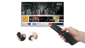 Samsung UE43MU6405 incluye el SmartTV de la marca, Tizen