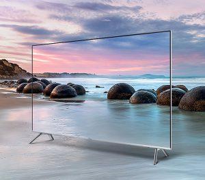 El diseño sin marcos del Samsung UE65MU7005 te permite inmersionarte en el contenido que estás viendo