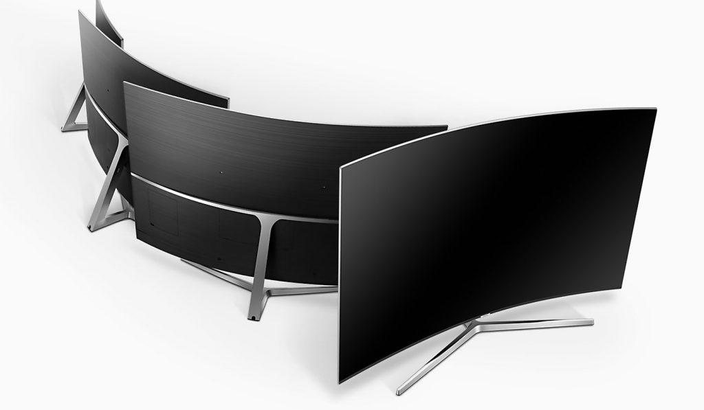 Samsung UE55MU9005. Diseño 360º en pantalla curva.