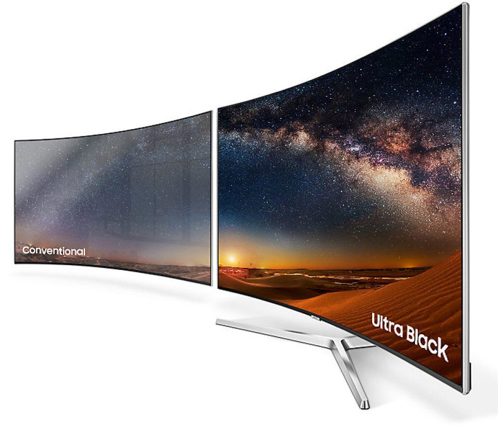 Samsung UE55MU9005. Función Ultra Black. Absorción de la luz ambiental para mejora del contraste.