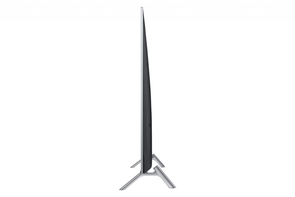 Samsung UE55MU7005. Diseño 360º con Perfil Slim y peanas futuristas.