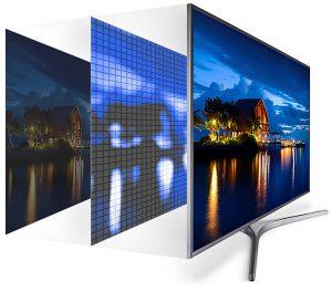 Samsung 55Mu6505 cuenta con la tecnología de mejora de imagen UHD Dimming, entre otras
