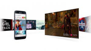 Este televisor inteligente ofrece una estupenda convergencia entre dispositivos