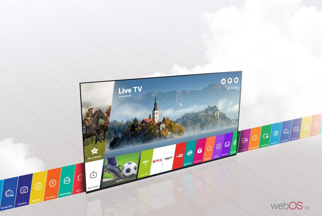 LG 43LJ624V con webOS 3.5
