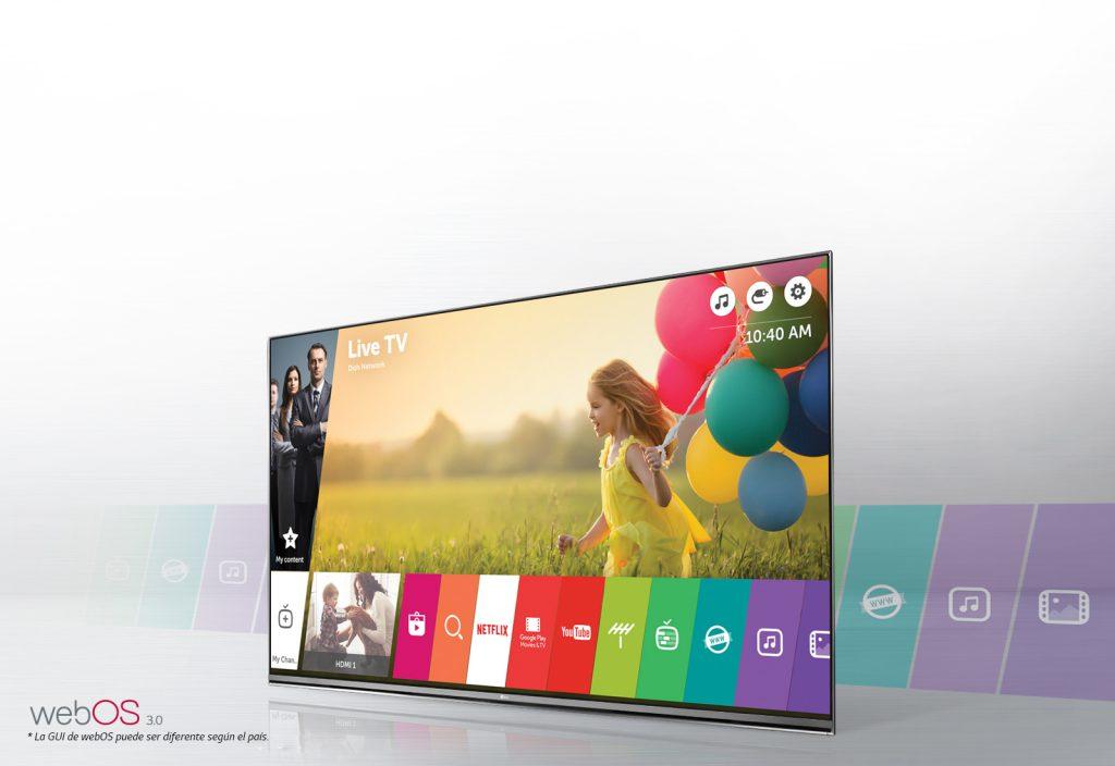 LG 55UH605V. LG Smart TV con webOS 3.0