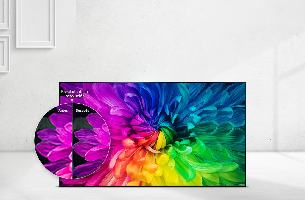 LG 43LJ5150, upscaler de LG hasta resolución Full HD con procesamiento Colour Master Engine.