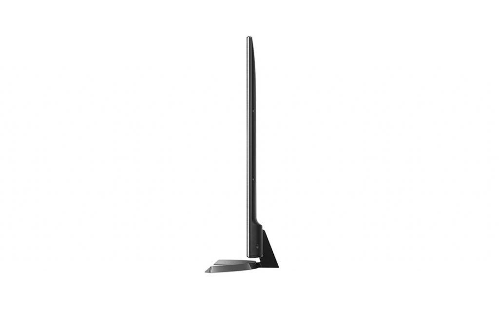 LG 75UJ675V. Diseño ultra slim, esbeltez y elegancia desde todos los ángulos.