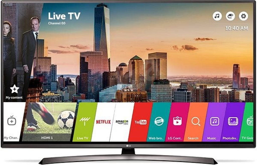 LG 49LJ624V, Smart TV con webOS 3.5 con certificación UL2900-1
