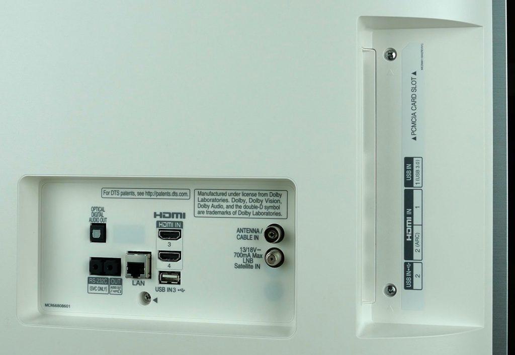 LG OLED55B7V conectividad