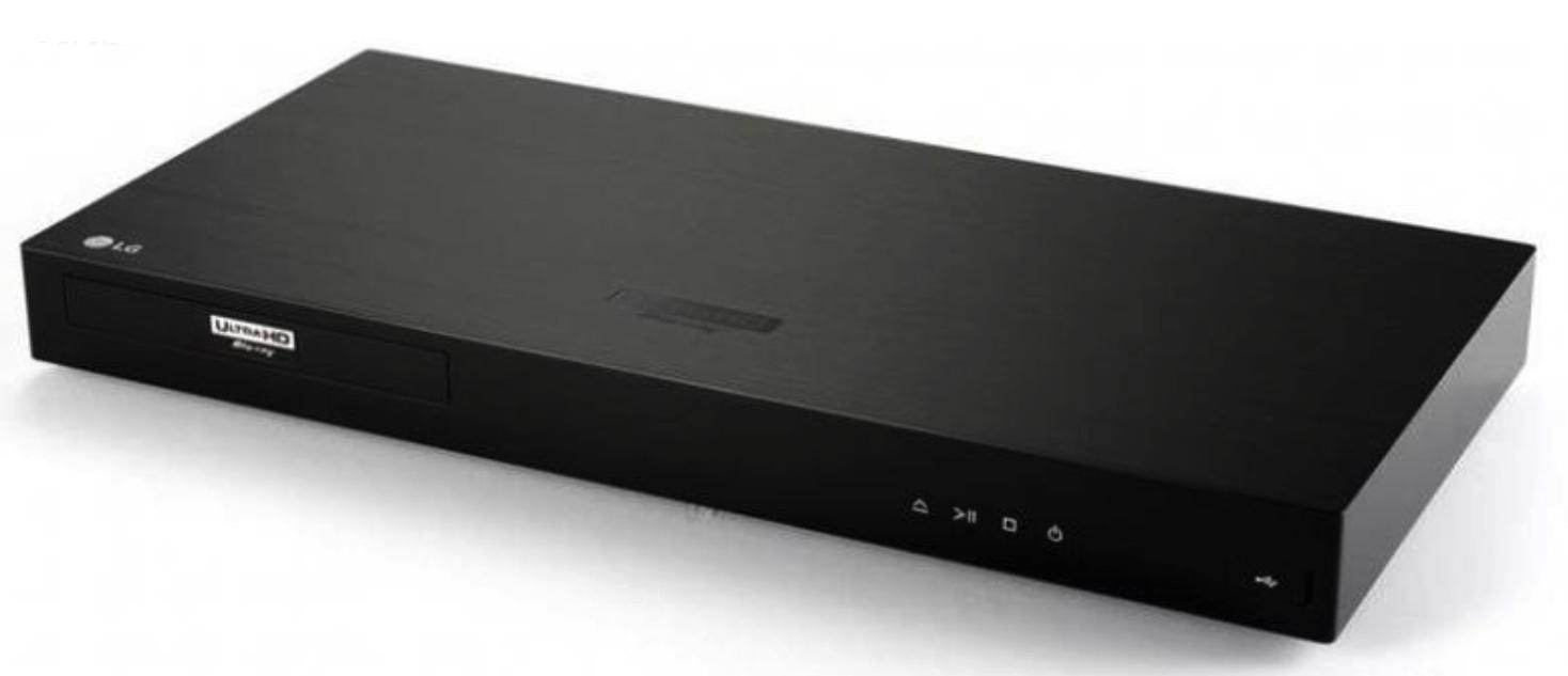 Nuevo Blu-ray UHD de LG