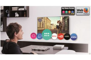 La TV viene con My Home Screen 2.0