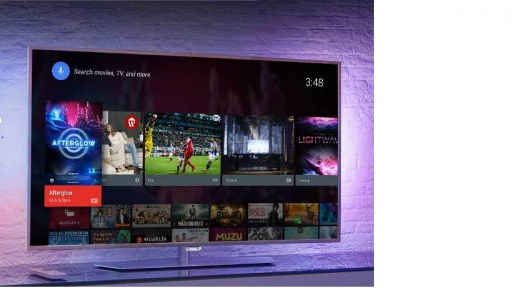Philips 43PUS6162/12. Entorno Smart TV de Philips. (No es la pantalla protagonista de esta review).
