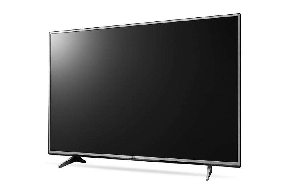 LG 55UH605V. Acabado metálico para una pantalla UHD 4K con matriz IPS.