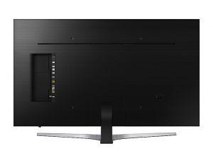 La trasera del Samsung UE49MU6445UXXC hace honor al diseño 360º