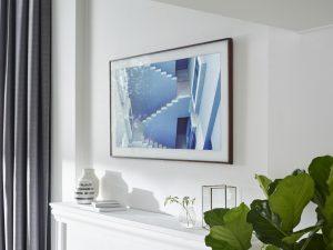 The Frame es el nuevo y estético televisor de Samsung que parece un cuadro