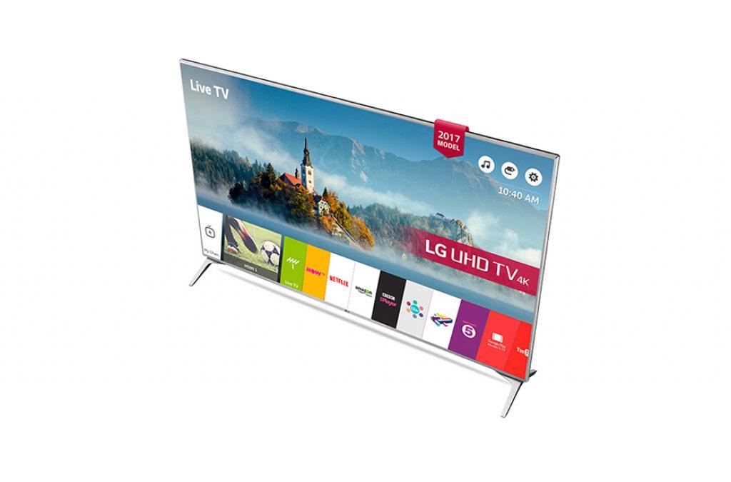 LG 60UJ651V, plataforma LG Smart TV con webOS 3.5 y Magic Remote.