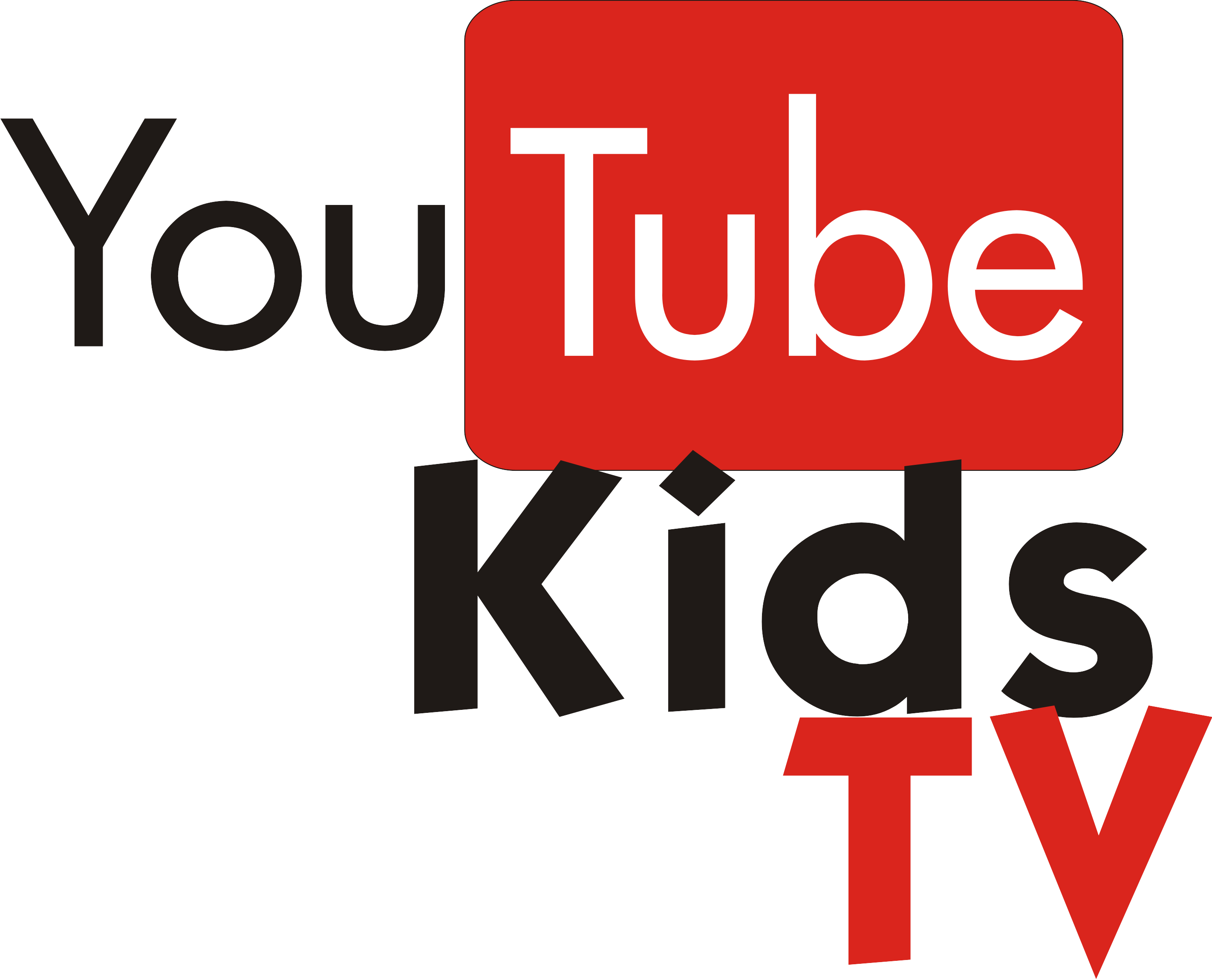 YouTube Kids en el televisor