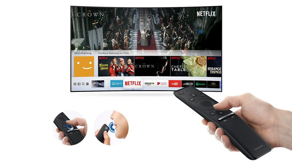 Samsung UE49MU6505 One Remote Control para tener todos los dispositivos en uno.