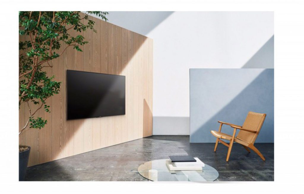 SONY KDL-49WE750 BRAVIA 2017. Modo mural.