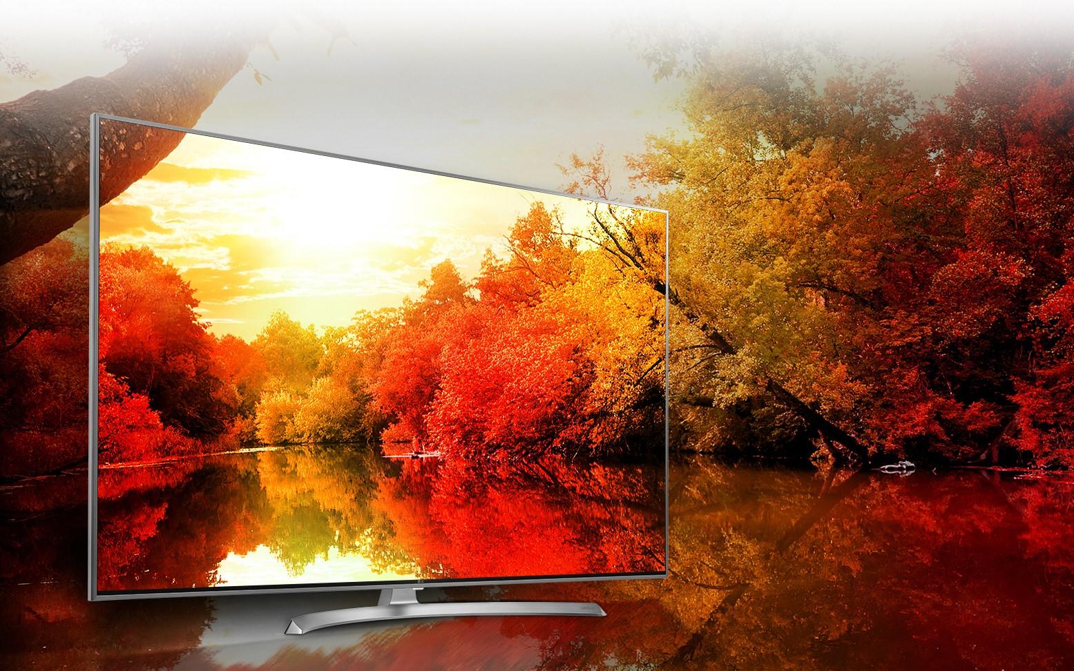 LG 55SJ810V es un televisor de gama alta