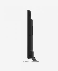 El perfil del televisor es sencillo aunque demasiado ancho