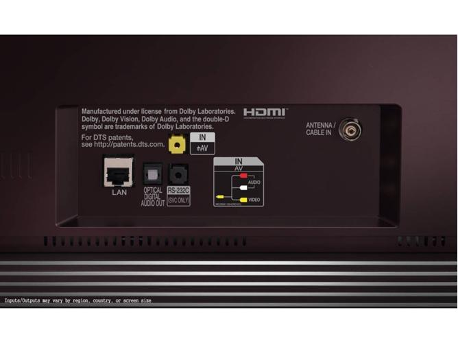 LG OLED55E7N conectividad